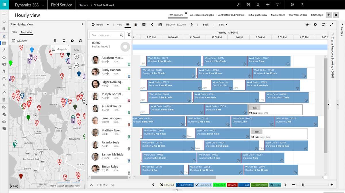 Microsoft Dynamics 365 Field Service