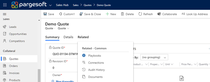 Dynamics 365 Customization - Remove Related Tab on Form