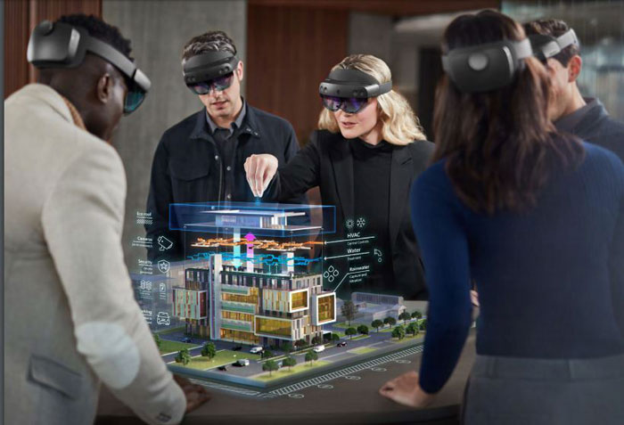 Mixed reality solutions from Microsoft Dynamics